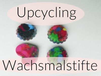 Upcycling I Wachsmalstifte schmelzen I Kids craft I Aus Alt mach Neu I Deutsch 2016
