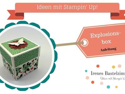Explosionsbox basteln mit Stampin' Up!***Anleitung*** DIY