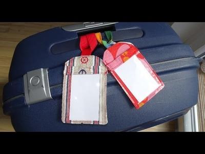 DaIsY´s DIY - Kofferanhänger nähen