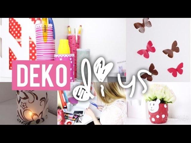 Diy Deko Ideen Furs Zimmer I Mit Einfachen Mitteln Basteln Wenig