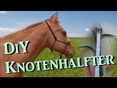 [DiY] Knotenhalfter ganz einfach selber machen - mit Diamantknoten - Tutorial | Serenity Horses