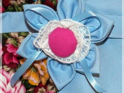 Käthes Nähstunde DIY Stoffblume -Schultertasche Teil 3 Nähen für Anfänger