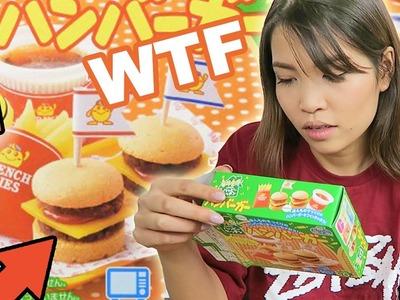 Verrücktes HAMBURGER MENÜ | Kracie Popin' Cookin' Japanische DIY Süßigkeiten