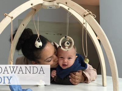 DaWanda DIY: Spielebogen für Babys aus Holz gestalten