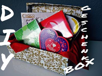 """DIY Geschenkbox - """"last minute Idee"""""""