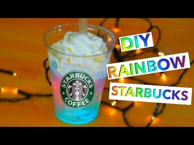 DIY RAINBOW STARBUCKS Vanilla Bean Frappuccino