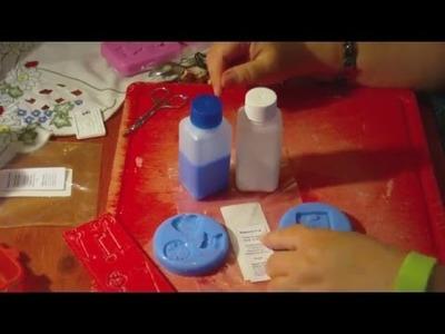 DIY - Silikonformen für Verzierungen. Molds for Embellishments