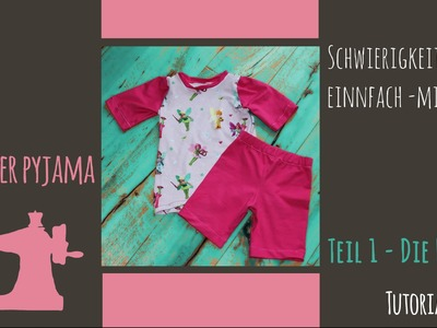 "DIY  Sommer Pyjama for Kids Teil 1 ""die Hose"""