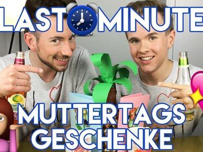 DIY LASTMINUTE MUTTERTAGSGESCHENKE + GEWINNSPIEL
