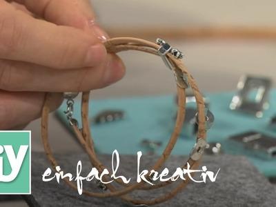 Schmuck aus Kork | DIY einfach kreativ