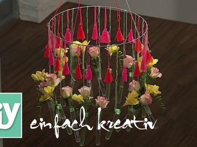 Blumen-Mobile | DIY einfach kreativ