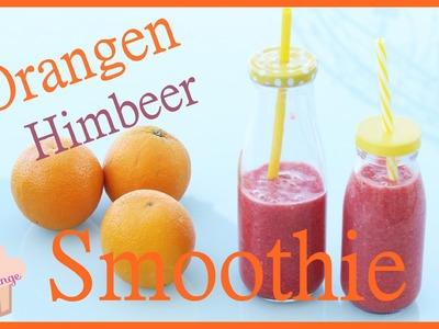 DIY | Sommer Getränk | Orangen - Himbeer Smoothie