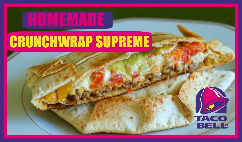DIY HOMEMADE CRUNCHWRAP SUPREME (Taco Bell) ⎮weeklyMel