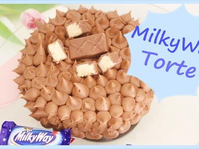 DIY | Schokoladen MilkyWay Torte |   schnell & einfach  selber machen   Back Lounge 2016 - Rezept