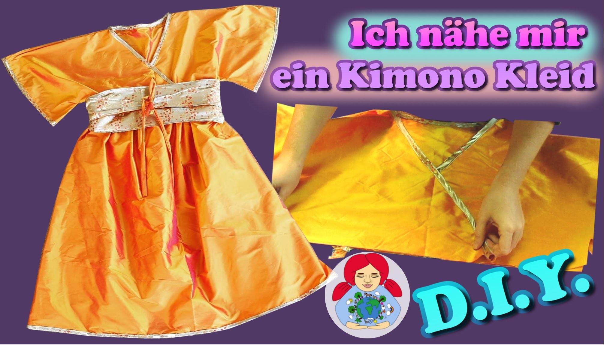 diy kimono kleid n hen schritt f r schritt damengr e. Black Bedroom Furniture Sets. Home Design Ideas