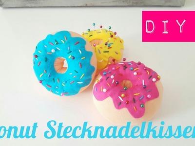 DIY Stecknadelkissen Donut selber machen (No Sew)