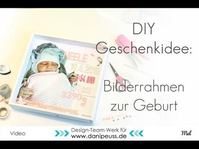 DIY Geschenkidee zur Geburt