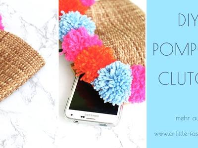 DIY Pom Pon Clutch
