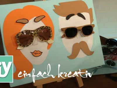 Sonnenbrillenhalter für Sie und Ihn | DIY einfach kreativ