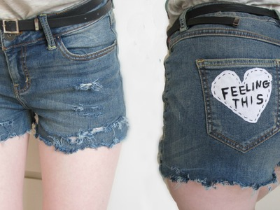 DIY: Tumblr inspired shorts ♥