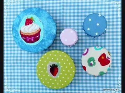 Käthes Nähstunde : DIY Schüsselhaube. bowl hood ,statt Alu - u. Plastikfolie