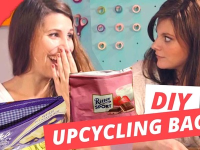 Upcycling Milka & Rittersport Tasche  | DIY or DI-Don't w. Holy Chic