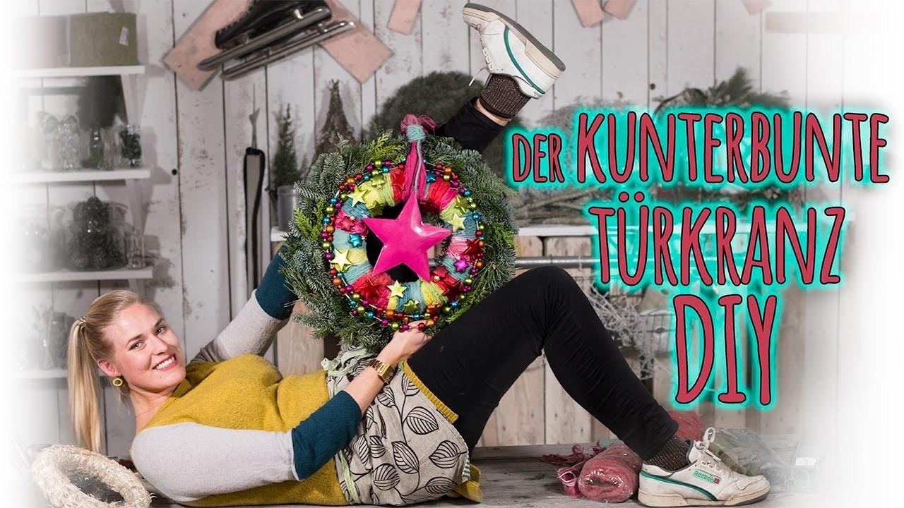 Türkranz DIY - der Kunterbunte