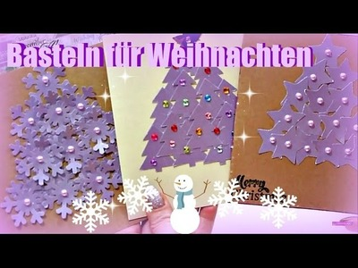 Weihnachtsgeschenke basteln | Karten selber machen | DIY Inspiration Bastelideen