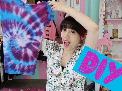 "DIY I Batik T-Shirt aus ""Everybody wants some"""