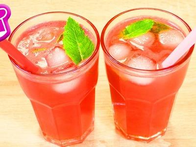 DIY Wassermelonen Limo | Super leckere Limonade ohne Zuckerzusatz | Sommer Erfrischung | Party