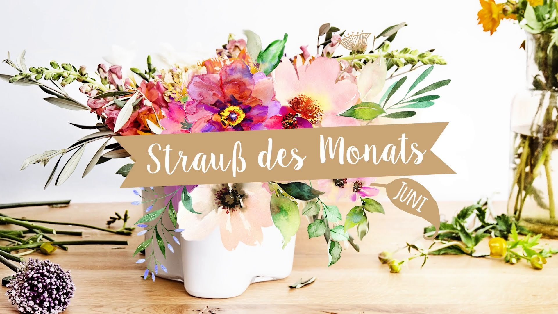 Boho Blüten - Strauß des Monats Juni | WESTWING DIY Tipps