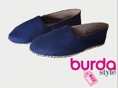 Burda style DIY Box  – Espadrilles zum Selbernähen
