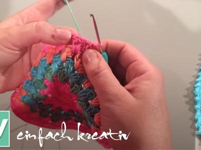 Tutorial: Mandala mit Büschelmaschen | DIY einfach kreativ