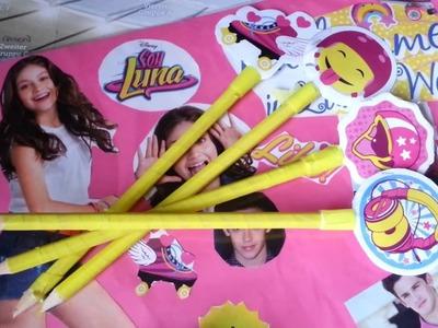 Soy Luna DIY: Soy Luna Stifte selbst gestalten