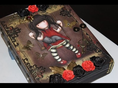 Gorjuss Scrapbook. mini Album Designteam Mona´s Kreativwerkstatt