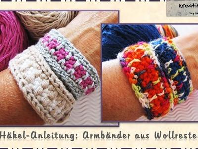 Häkeln - Anleitung Armbänder. Crochet - Pattern Bracelet