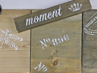 How to: Holz mit Kaffee, Essigessenz und Stahlwolle verwittern.altern lassen.Treibholz-Effekt