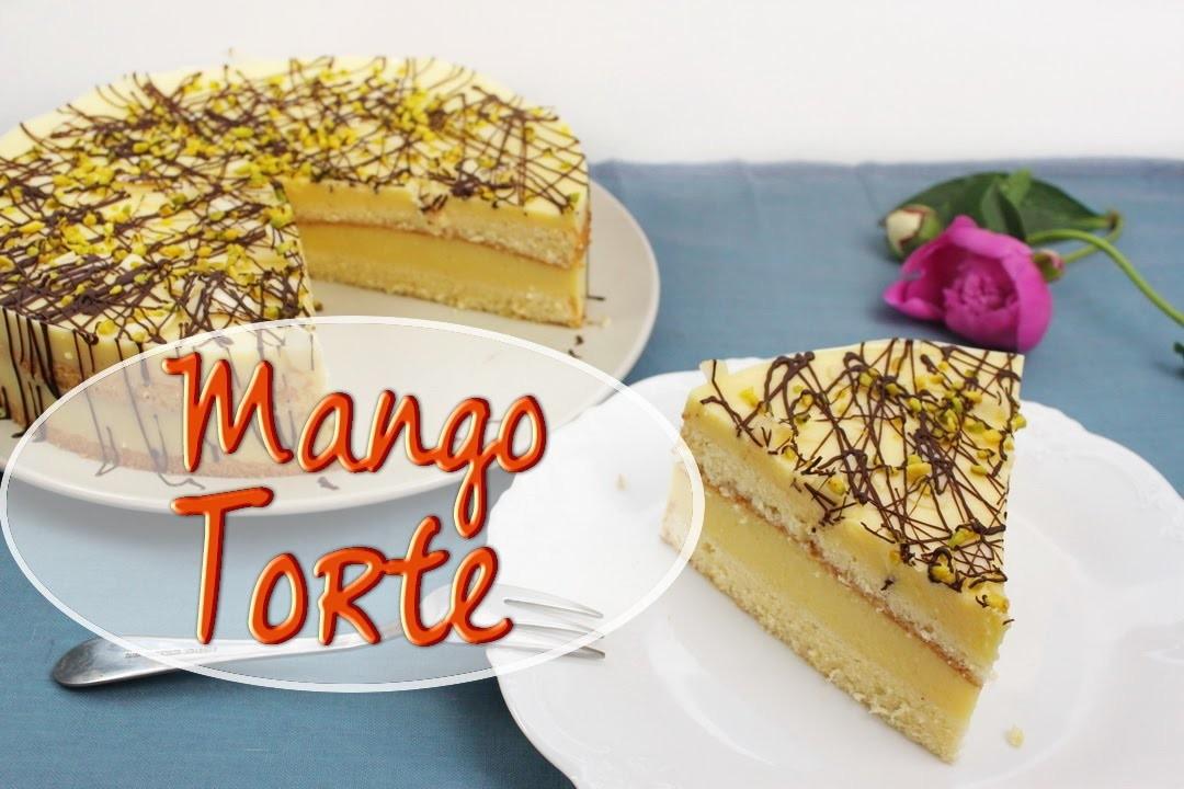 mango joghurt torte backen fruchtige torte mit mango. Black Bedroom Furniture Sets. Home Design Ideas