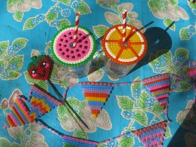 Bügelperlen DIY -Sommer Editon