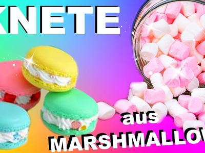 DIY ESSBARE KNETE AUS MARSHMALLOWS SELBER MACHEN I DIY edible Play Dough I PatDIY