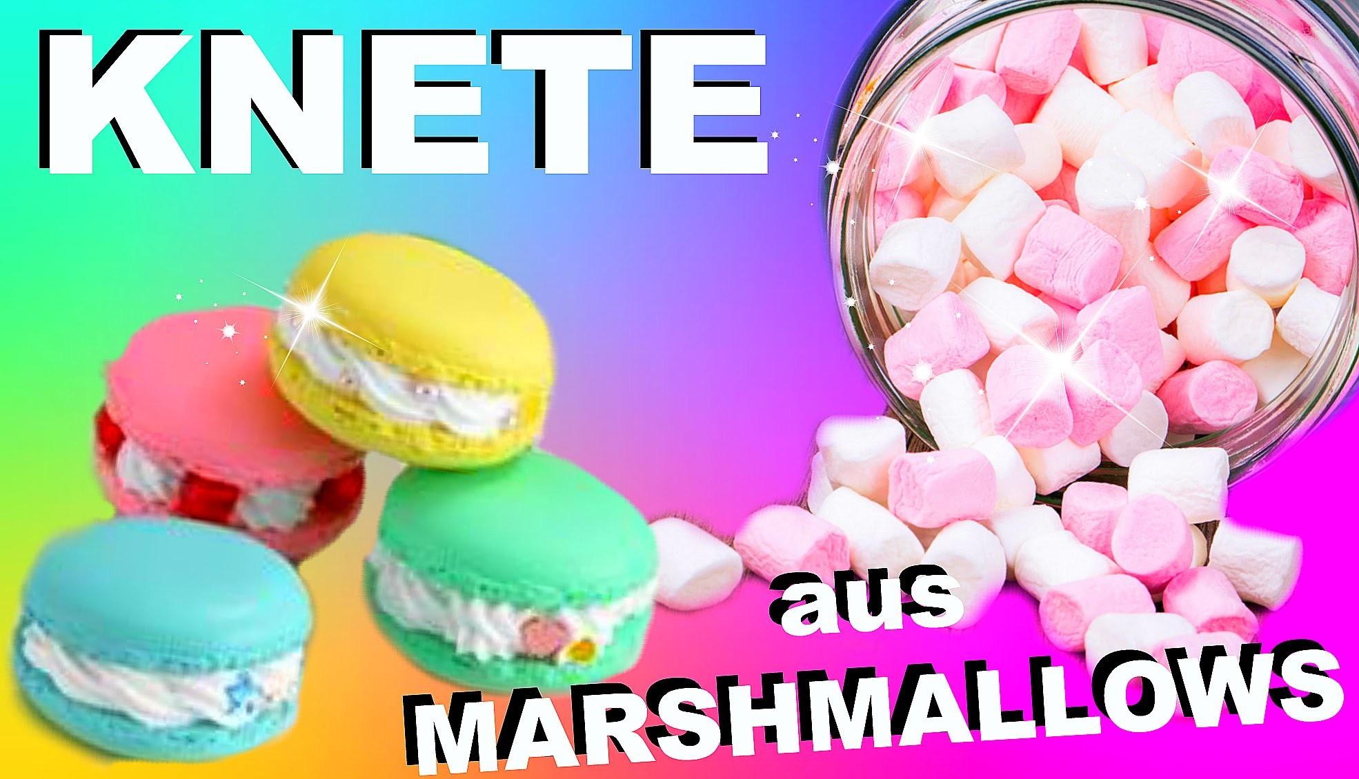Diy Essbare Knete Aus Marshmallows Selber Machen I Diy Edible Play