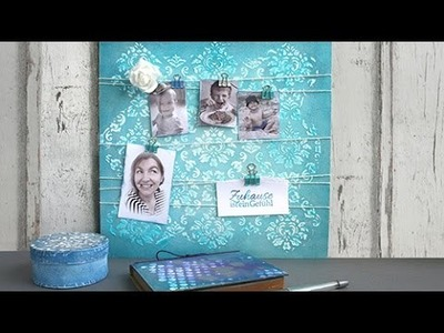 DIY Mixed Media mit Viva Decor Relief-Papierpaste und Paper-Soft-Color