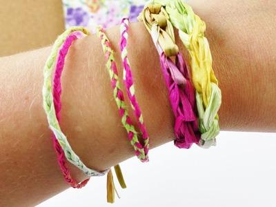 DIY Sommer Armbänder aus Creative Paper | Zwei einfache & schnelle Methoden | Hippy Look Festival