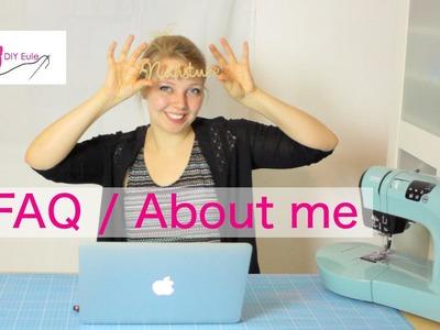 FAQ. About me 2 -  DIY Eule