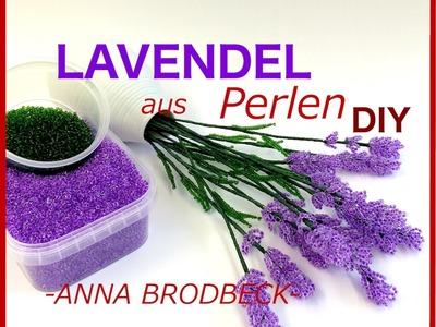 LAVENDEL aus Perlen. Annonce DIY (DVD1)