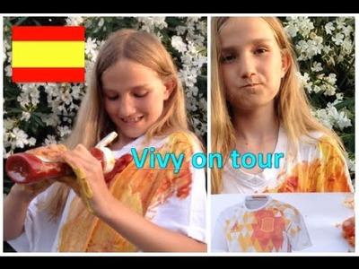 DIY Bastelanleitung für ein Spanisches Fussball EM Trikot