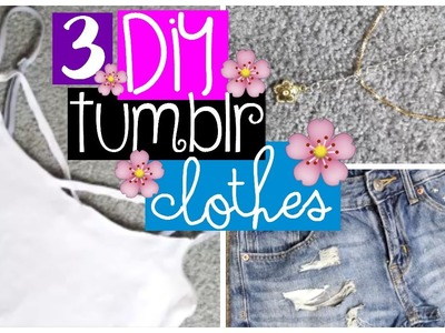 DIY TUMBLR CLOTHES | MyLifestyle♥