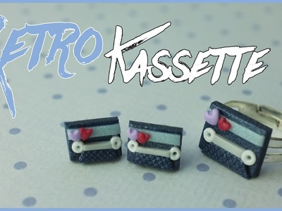 RETRO KASSETTE | FIMO Tutorial | how to
