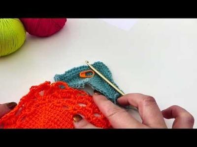 Tunesisches Abenteuer - Crochet-ALong -  Teil 2