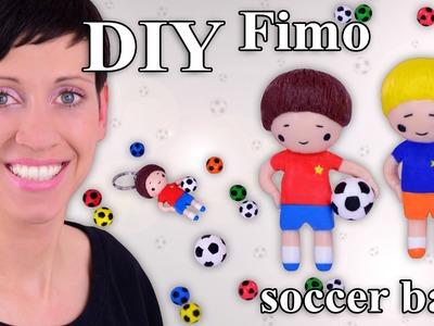FIMO Fußball: Polymer Clay Soccer Ball (Chibi) - Tutorial [HD.DE] (EN-Sub)